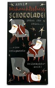Anti-Weihnachtsstress-Schokolade
