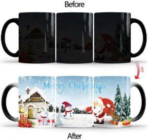 Farbwechseltasse Weihnachtsmann - witziges Mitbringsel im Advent
