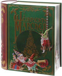 Keksdose Weihnachtsmärchen -Blechdose in Buchform