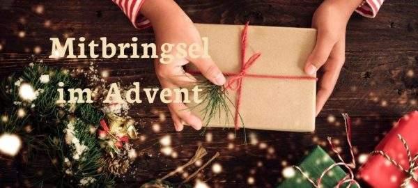 Mitbringsel im Advent