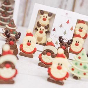 Schokoladenfiguren Weihnachten