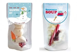 Snowman Kit and Snow Man Soup - Mitbringsel im Advent