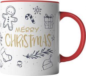 Tasse Merry Christmas - schönes Mitbringsel im Advent