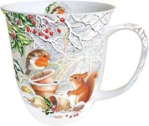 Tasse Winter Picture - schönes Mitbringsel im Advent