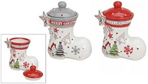 Vorratsdosen-Set Stiefel Merry Christmas