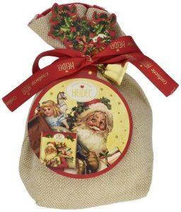 Weihnachtsschoki im Säckchen
