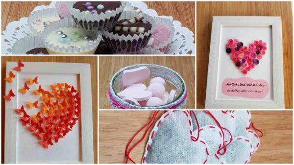 Muttertagsgeschenke selber machen – 5 Last-Minutes-Geschenkideen