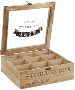 Teebox aus Holz