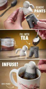 Teesieb-Set Mr. Tea