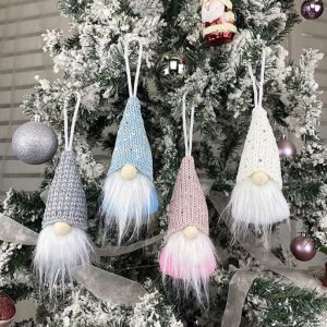4er Set Weihnachtswichtel zum Aufhängen