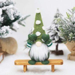 Weihnachtswichtel grün